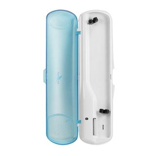 Seago Toothbrush Sanitizer for Healthy Hygiene White & Blue