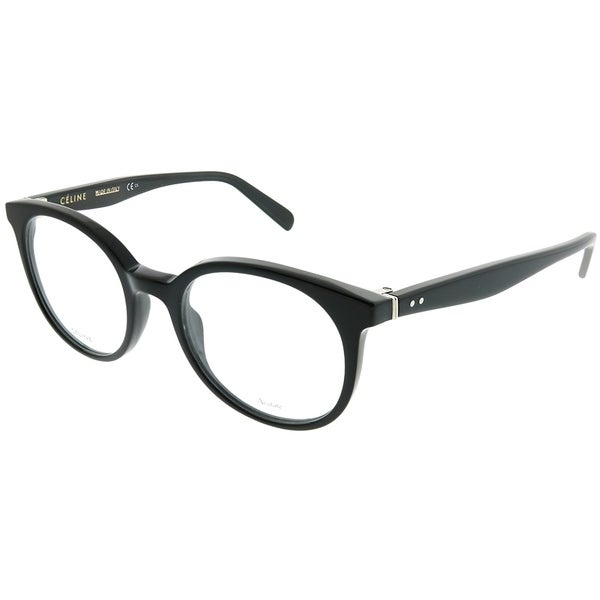 58fe7f68795 Celine Round CL 41349 Thin Mary Small 807 Unisex Black Frame Eyeglasses