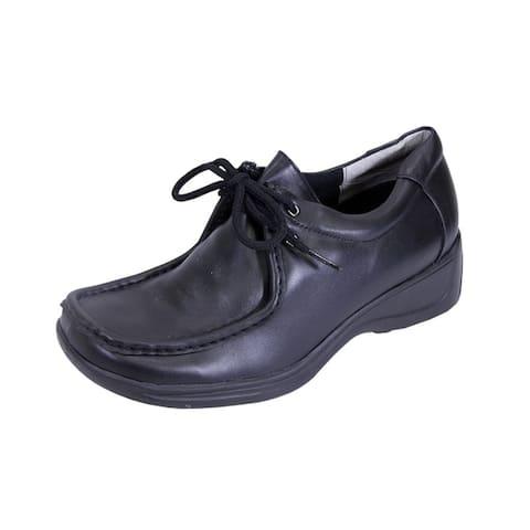 24 HOUR COMFORT Kris Women Extra Wide Width Classic Durable Sneakers