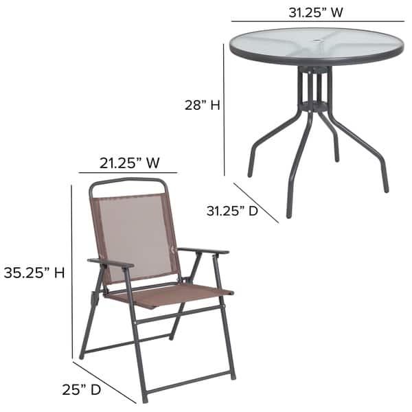 Tremendous Shop Nantucket 6 Piece Patio Garden Set With Table Umbrella Uwap Interior Chair Design Uwaporg