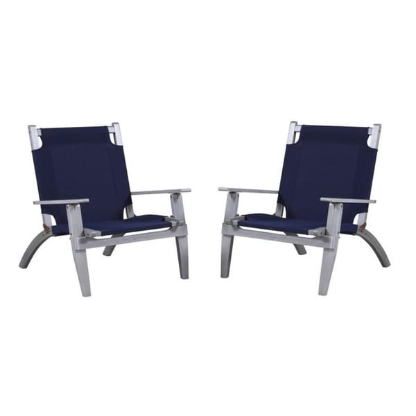 Shop Holden Gray Outdoor Chair Set - Free Shipping Today ... on Safavieh Outdoor Living Granton 5 Pc Living Set id=56561