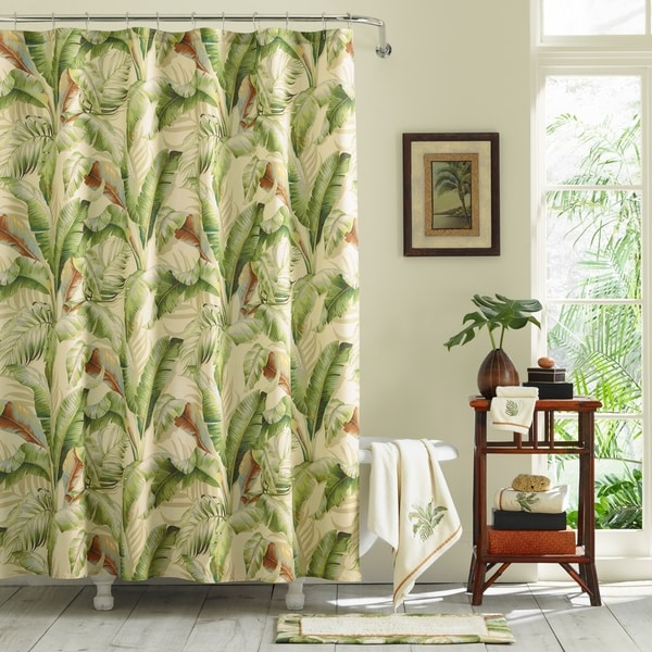 cc07029b8 Shop Tommy Bahama Palmiers Shower Curtains - Free Shipping On Orders ...