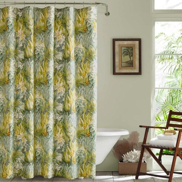 Tommy Bahama Cuba Cabana Shower Curtain