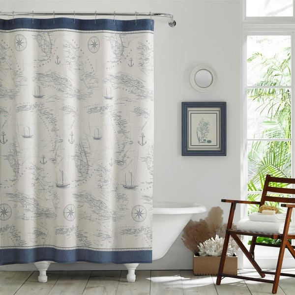 Tommy Bahama Caribbean Sea Shower Curtain