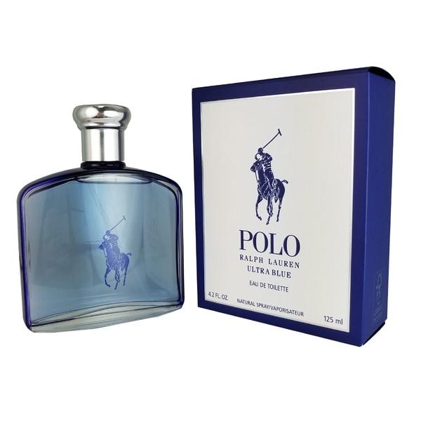 a52be06c Ralph Lauren Polo Ultra Blue Men's 4.2-ounce Eau de Toilette Spray