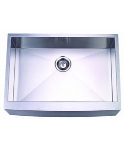 Farmhouse 30-inch Stainless Steel Undermount Kitchen Sink