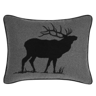Eddie Bauer Elk Charcoal Breakfast Pillow