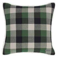 Eddie Bauer Finley Plaid Sherpa Throw Pillow