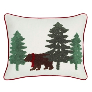 Eddie Bauer Bear Scene Breakfast Pillow