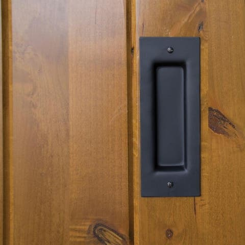 Vista Inset Barn Door Pull Handle