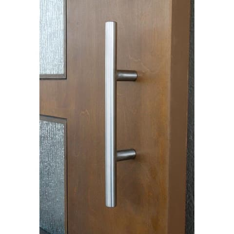 "12"" Stainless Steel Metro Barn Door Pull Handle"