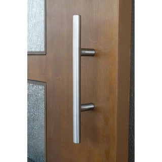 "12"" Stainless Steel Metro Barn Door Pull Handle"