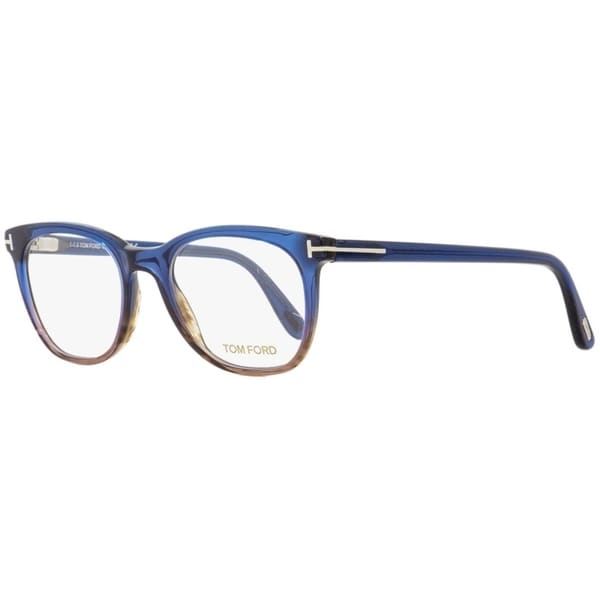 13a8953b44 Tom Ford TF5310 092 Mens Striped Brown Blue 50 mm Eyeglasses - striped  brown