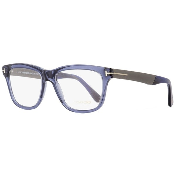e781c64cb7cf Shop Tom Ford TF5372 090 Mens Transparent Blue Dark Ruthenium 54 mm  Eyeglasses - transparent blue dark ruthenium - Free Shipping Today -  Overstock - ...