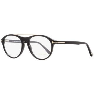 32a223b0a855 Tom Ford TF5411 001 Mens Shiny Black Gold 53 mm Eyeglasses - shiny black