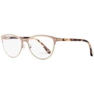 Tom Ford TF5420 074 Mens Matte Pink/Rose Havana 52 mm Eyeglasses - matte pink/rose havana