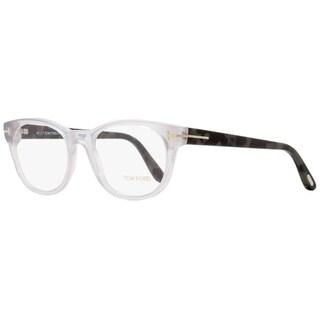 Tom Ford TF5433 020 Mens Transparent Grey/Grey Melange 53 mm Eyeglasses - transparent grey/grey melange