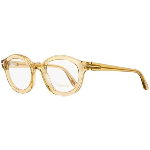 Tom Ford TF5460 045 Mens Opal Honey 49 mm Eyeglasses - opal honey