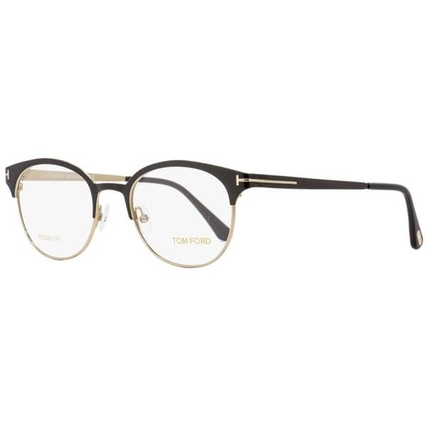 2e6e248b458d Shop Tom Ford TF5382 005 Mens Black 50 mm Eyeglasses - Free Shipping Today  - Overstock - 22524103