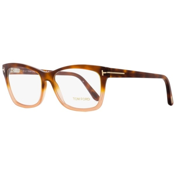 e150152eb419 Shop Tom Ford TF5424 056 Mens Havana Peach 55 mm Eyeglasses - Free Shipping  Today - Overstock - 22524104