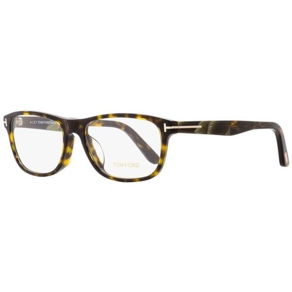 fa06a089f29 Shop Tom Ford TF5430F 052 Mens Dark Havana Horn 56 mm Eyeglasses - dark  havana horn - Free Shipping Today - Overstock - 22524105