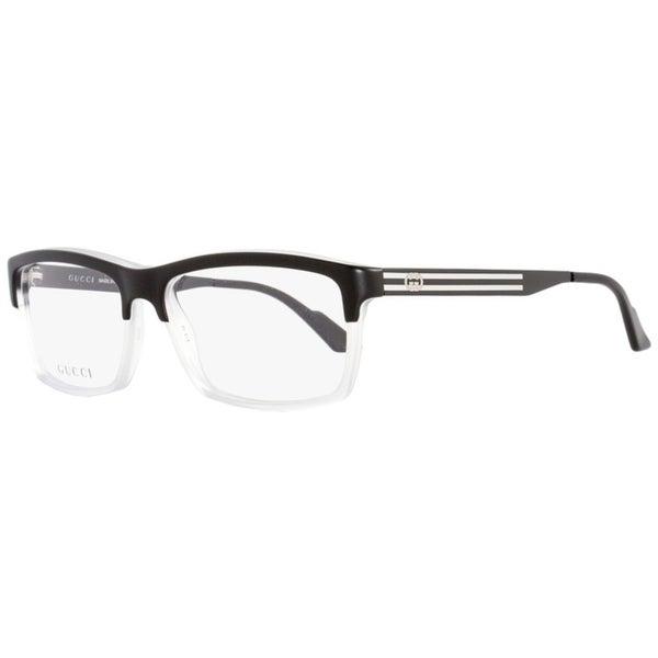 a09b076f27f Shop Gucci GG3517 WW2 Mens Black Crystal 53 mm Eyeglasses - Free ...