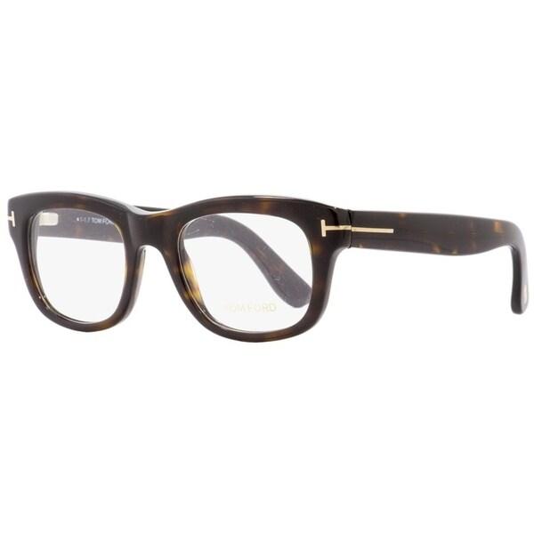 463b4976fbce Shop Tom Ford TF5472 052 Mens Dark Havana 49 mm Eyeglasses - Dark Havana -  Free Shipping Today - Overstock - 22524114