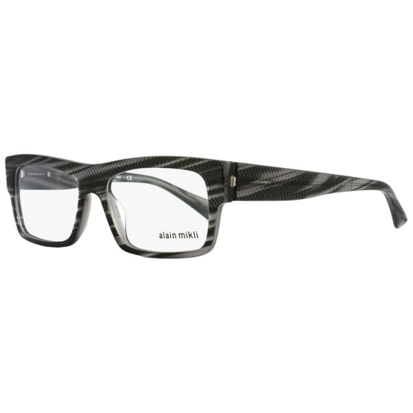 32d7b89ef1 Shop Alain Mikli A01344M B0I7 Mens Striped Gray 54 mm Eyeglasses - striped  gray - Free Shipping Today - Overstock - 22524121