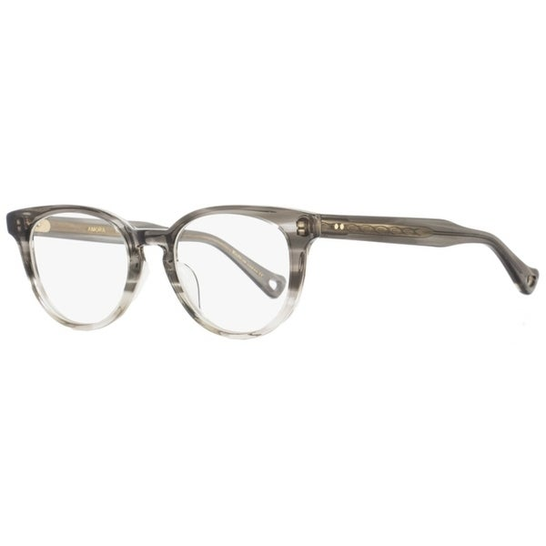 8787e84b7b Shop Dita DRX3028 Amora A-BLK Mens Gray Clear 48 mm Eyeglasses - Free  Shipping Today - Overstock - 22524135