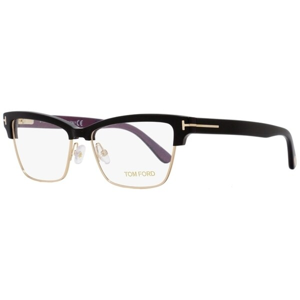 701fc26dfa1a Shop Tom Ford TF5364 005 Mens Black Gold 53 mm Eyeglasses - Free Shipping  Today - Overstock - 22524177