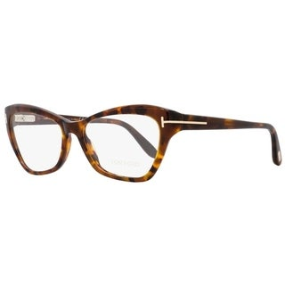 Tom Ford TF5376 052 Mens Vintage Havana/Gold 54 mm Eyeglasses - vintage havana/gold