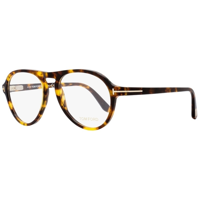 7cda3ff4f93ff Shop Tom Ford TF5413 052 Mens Vintage Havana Gold 53 mm Eyeglasses -  vintage havana gold - Free Shipping Today - Overstock - 22524182