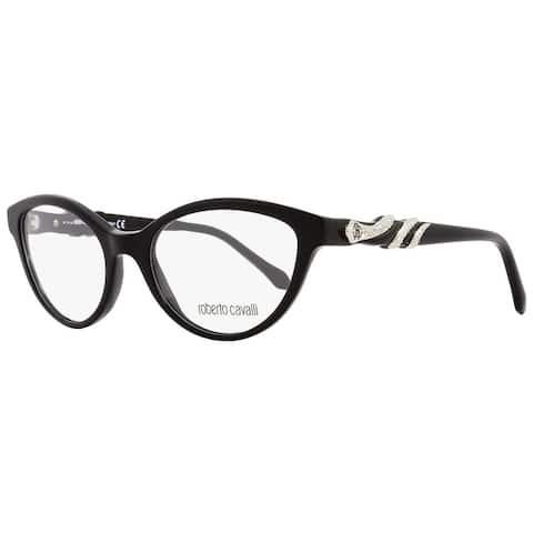 Roberto Cavalli RC843 Asterope 001 Mens Black/Palladium 52 mm Eyeglasses