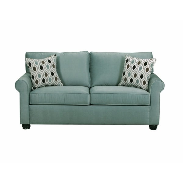 Simmons Upholstery Jojo Spa Full Sleeper Sofa