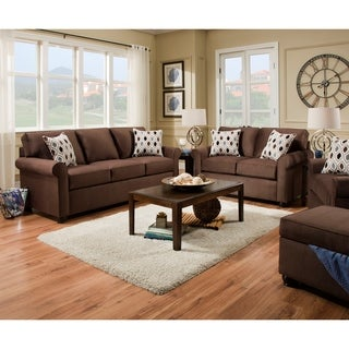 Simmons Upholstery JoJo Chocolate Sofa