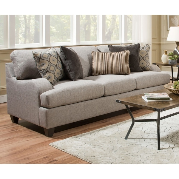 Simmons Sleeper Sofa: Shop Simmons Upholstery Lennox Sterling Queen Sleeper Sofa