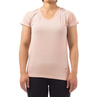 Women's Workout Running Shirts Fitness Gym Yoga Exercise Short Sleeve with Mesh Back Tops