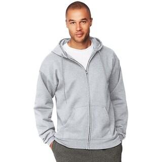 Hanes mens 9.7 oz. Ultimate Cotton® 90/10 Full-Zip Hood (F280)