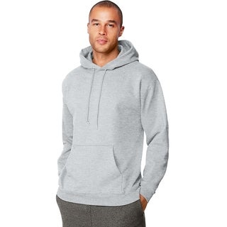 Hanes mens 9.7 oz. Ultimate Cotton® 90/10 Pullover Hood (F170)