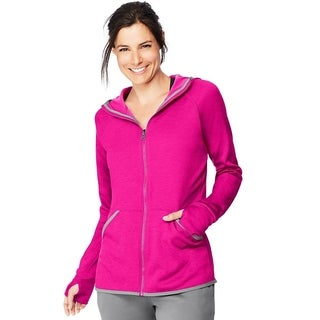 Hanes womens Performance Fleece Zip Up Hoodie (O4873)