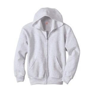 Hanes Boys ComfortBlend® EcoSmart® Full-Zip Hood (P480)