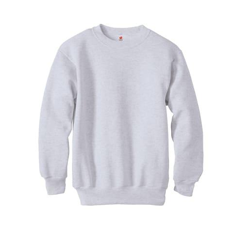 Hanes Boys 7.8 oz. ComfortBlend® EcoSmart® 50/50 Fleece Crew (P360)