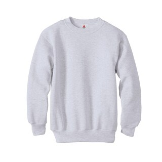 Hanes Boys 7.8 oz. ComfortBlend® EcoSmart® 50/50 Fleece Crew (P360) (5 options available)