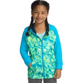 Hanes girls Tech Fleece Full Zip Hoodie (OK382)