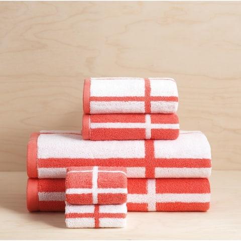 Sparrowhawk Brandon 100% Cotton, Reversible, 6-Piece Towel Set