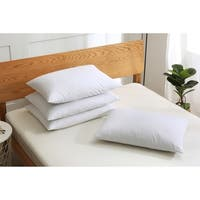 St. James Home Soft Cover Nano Feather Pillows (Set of 4) - White