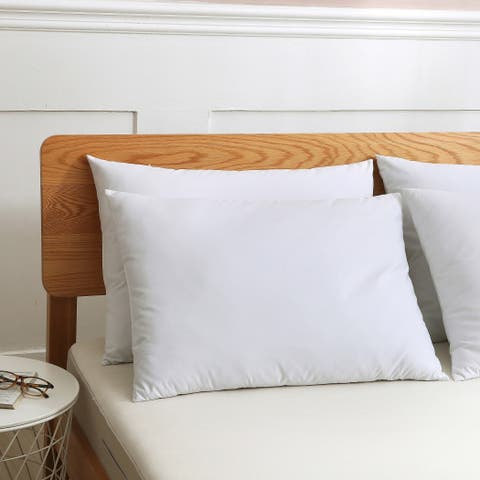 St. James Home Cotton Duck Down Blend Pillow - Set of 2 - White