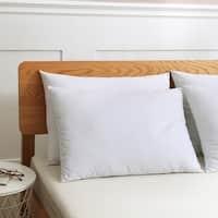 St. James Home Cotton Duck Down Blend Pillow - Set of 2 - White