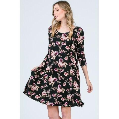 Olivia Pratt Everyday Floral Dress