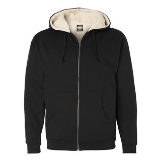 Independent Trading Co. mens Sherpa Lined Full-Zip Hooded Sweatshirt (EXP40SHZ)